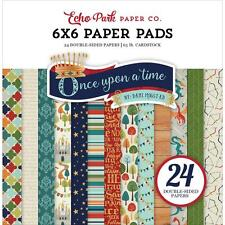 Echo Park ~ ONCE UPON A TIME PRINCE ~ 6x6 Paper Pad 24 pcs