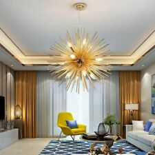 Hanging Led Chandeliers Home Ceiling Lighting Fixtures Elegant Design Bulb Lamps