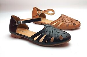Ladies/Women New Closed Toe,Shoes, Adjustable Strap, Summer / Casual Wear