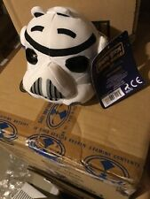 "2012 Star Wars Angry Birds Storm Trooper Plush Stuffed 5"" Toy"