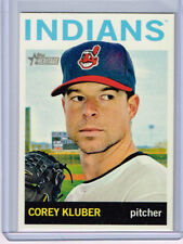 2013 TOPPS HERITAGE HIGH COREY KLUBER  H557 - CLEVELAND INDIANS