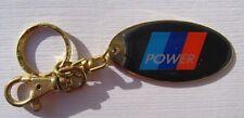 BMW Motorsport M Power 3 x 6 cm Schlüsselanhänger Keychain NEU (A52v)