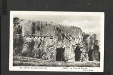 Vintage Real Photo Postcard General View La Prison De Socrate Athens Greece