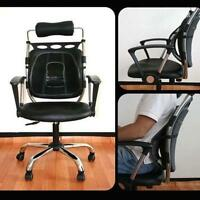 1x Massage Mesh Lumbar Back Brace Support Office Home Car Seat Chair Cushion MT