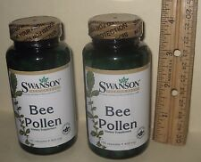 TWO, Bee Pollen, Certified pure and free of microbials, 200 capsules (total)
