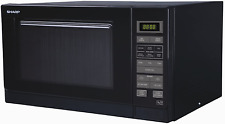 Sharp R372KM BRAND NEW Solo Microwave Oven with Touch Control 25L 900W - Black