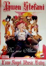 STEFANI, GWEN - NO DOUBT - 2004 - Promoplakat - Love Angel Music - Poster