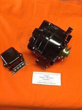 1963 - 72 oldsmobile f-85 135 amp high output alternator powdercoated black