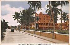 NASSAU, BAHAMAS, 3 PC's, HOTEL, LAW COURTS & GOVERNMENT HOUSE, c. 1910-20's