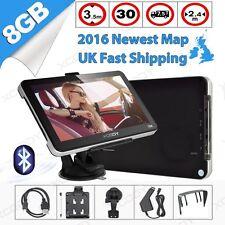 "XGODY 7"" Truck Car GPS Navigation 8GB Lorry Sat Nav AV-IN EU UK HGV BT Free Map"