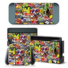 Sticker BOMB Nintendo Switch protettiva della pelle 4 Pc Adesivo Set - 0288