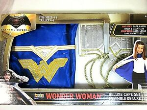 IMAGINE BY RUBIES WONDER WOMAN DELUXE CAPE COSTUME AGES 4-6 NEW IN BOX
