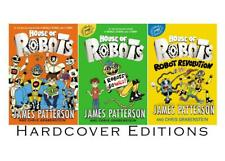 HOUSE OF ROBOTS Childrens Series by James Patterson HARDCOVER Set of Books 1-3