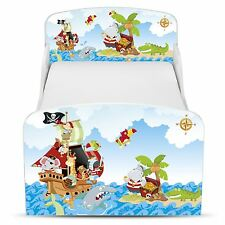 PIRATES MDF TODDLER BED NEW BOXED BEDROOM FURNITURE