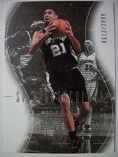 2003-04 SP AUTHENTIC TIM DUNCAN # 95  SPURS !!!  BOX  # 33