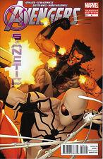 Marvel AVENGERS X-SANCTION #4 1:25 Yu Variant AVX Cable