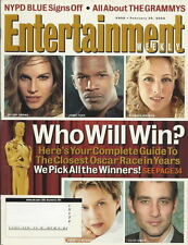 Oscar Odds Entertainment Weekly Feb 2005 Grammy Review NYPD Blue Arthur Miller