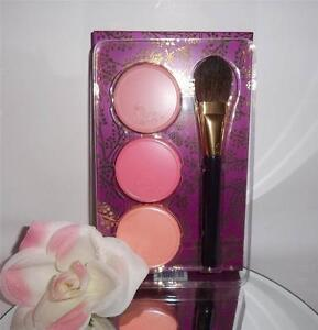 Tarte Amazonian Clay 12 Hour Blush Brush 4pc Deluxe Gift Set Kit Limited Holiday