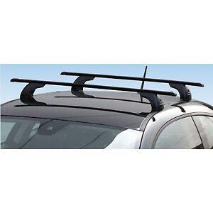 accessorypart Barre Portatutto per Skoda Rapid 2012-2019 Portabagagli Portapacchi Alluminio Grigio