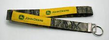 John Deere & Mossy Oak Camo Camouflage Lanyard Key Chain Ring Handmade Custom