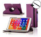 Cuir Violet étui rotatif Housse Pour Samsung Galaxy Tab PRO 10.1 + Stylet
