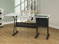 Sewing Machine Tables And Cabinets With Storage For Quilters Arts Crafts Hobby