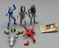 Japanese Bandai HG Gashapon ULTRAMAN figure LOT Dada BALTAN Ultra man LEO Tiga !