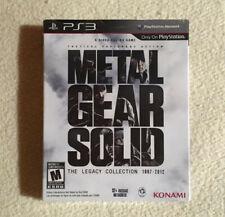Metal Gear Solid: The Legacy Collection -PS3- -MUY BUEN ESTADO-
