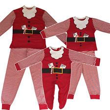 Family Mum Dad Kids Children Baby Christmas Santa Claus Festive Xmas Pyjamas PJ