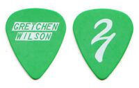Gretchen Wilson Signature Green Guitar Pick - 2011 Tour