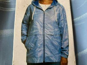 Weatherproof Vintage Size XS, Riverside Blue, Women's Rain Slicker Jacket