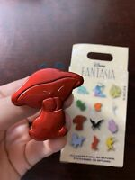 Red Mushroom Disney Parks Fantasia 80th Anniversary Mystery Box Pin Hop Low