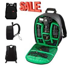 Waterproof Multi-function DSLR Camera Shoulder Bag Backpack Case For Canon Nikon