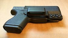 Safe2Fire IWB Holster for Glock 43 - Black, Kydex, Ambidextrous