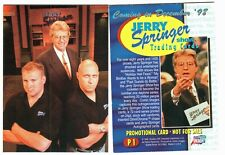 Jerry Springer - promo cards P1 & P2 (set was not released)