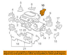 HONDA OEM ENGINE-Rear Mount Bracket 50610SDBA01