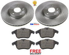 FOR FORD S-MAX (2006-) 1.8 2.0 2.3 TDCi FRONT BRAKE DISCS & BRAKE PADS SET *NEW*