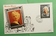 DR WHO 1995 BURKINA FASO FDC LEGENDS OF HOLLYWOOD MARILYN MONROE SILVER f94843