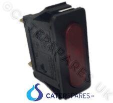 Ne33 Lincat Slim Rectangular Red Neon Lamp / Bulb Indicator Leight 30X11 230V