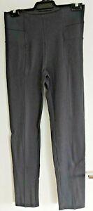 Ladies Dark Grey Pull on style pants sz 10 by TARGET