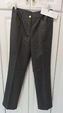 NWT Spanner Women's Slacks Pathways Lined Slate Grey 70% Wool 30% Poly. Sz 8