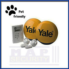 Yale HSA6400 PET FRIENDLY Telecommunicating Alarm, Wire Free, New UK Stock
