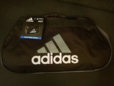 Adidas Diablo Black Gray White Small Duffel Bag Gym Bag