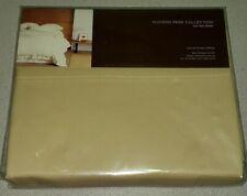 Hudson Park Collection Full Flat Sheet 600 Tc 100% Egyptian Cotton Khaki Tan