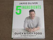 5 Ingredients - Jamie Oliver Quick & Easy Food - Cook Book NEW