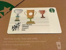 STARBUCKS CARD CORPORATE / CO-BRANDED / Congratulations-Trophy / OCD