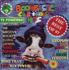 2 CDs Boombastic Club & House Hits (The Best of 97) OVP