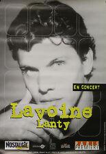 """""""Marc LAVOINE & Alain LANTY (EN CONCERT)"""" Affiche originale 1997 Vincent KNAPP"""