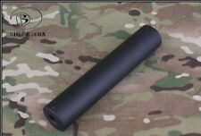 SILENZIATORE BD 185mm Smooth Style Silencer BD0482 NERO AIRSOFT SOFTAIR