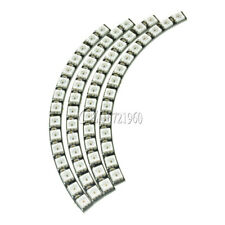 WS2812 5050 60 RGB LED Ring Wall Clock Ultra Bright Lamp Panel For Arduino
